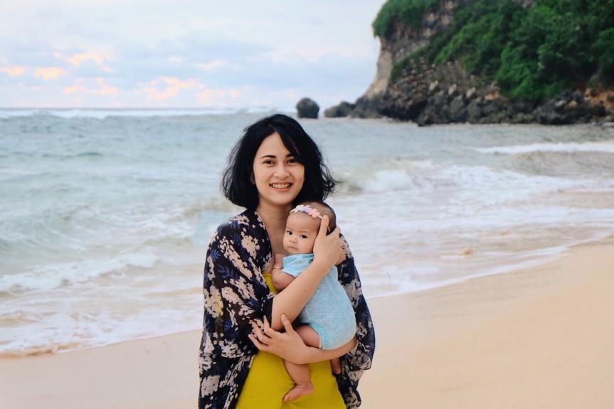 Perdana Berlibur ke Bali denganSophia