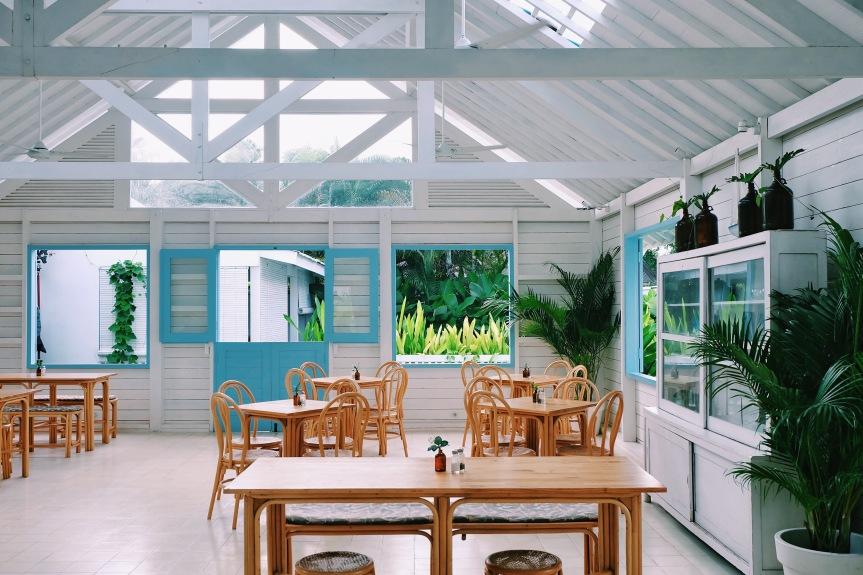 Area indoor Panama Kitchen & Pool