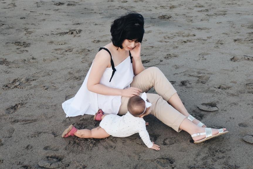 Bermain-main di Pantai Batu Bolong