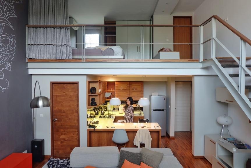 Loft Four di Petitenget 501 yang luas & nyaman