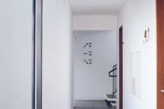 Interior Blackbird Hotel, Bandung yang minimalis, modern dan aesthetic.