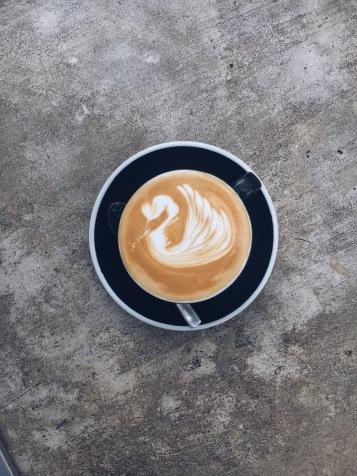 Latte Art, Mimiti Coffee, Bandung
