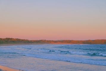 Sunset di Phillip Island, Australia