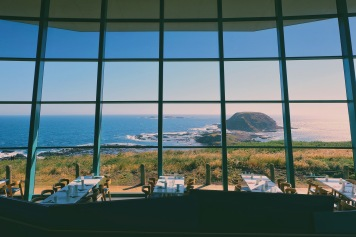 View dari The Nobbies Centre, Phillip Island, Australia
