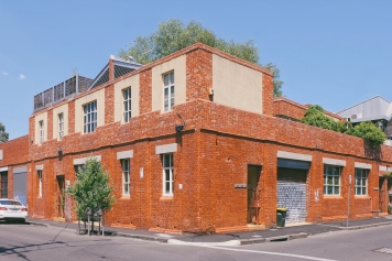 The colorful and artistic Fitzroy, Melbourne, Australia