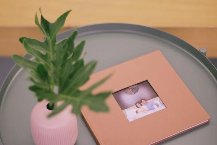 Album foto dari ID Photobook yang praktis dan minimalis
