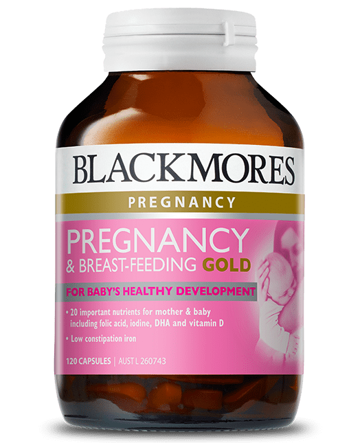 Blackmores_Pregnancy Breastfeeding Gold