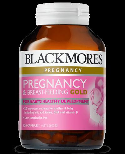 Blackmores_Pregnancy Breastfeeding Gold