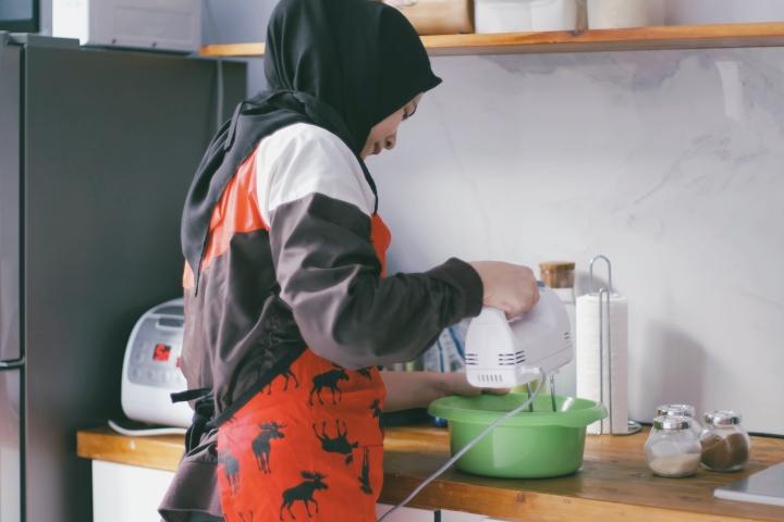Berkarya di Rumah: Rice-Cooker BananaBread